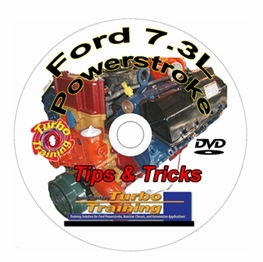 7.3 PowerStroke Training DVD Only
